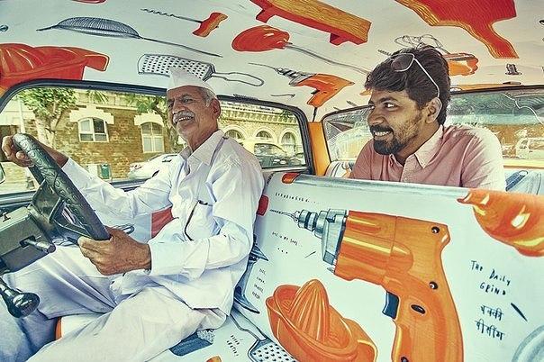 По-настоящему творчески: арт-такси в Индии
