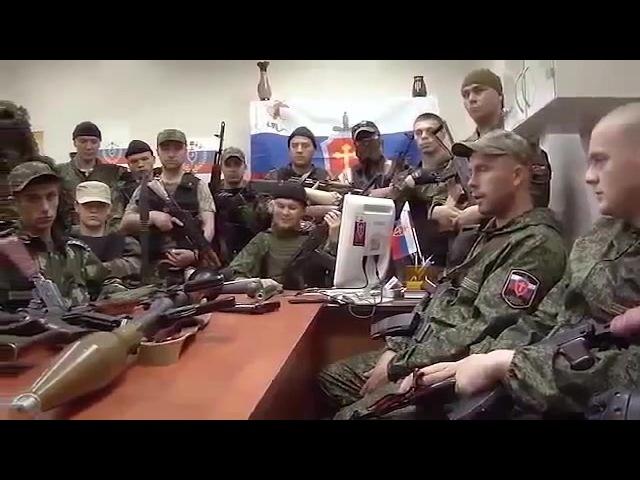 Русская Православная: Донецкое ополчение читает рэп