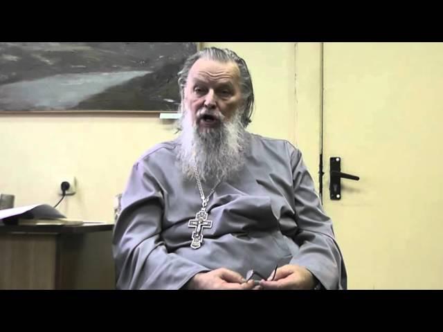 Отец Павел Адельгейм (октябрь 2012 год)