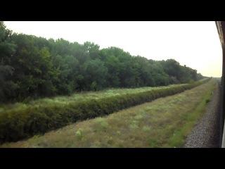 [УЗ] По просторам Херсонской области.. / Across the expanses of the Kherson region..(Odessa railway)