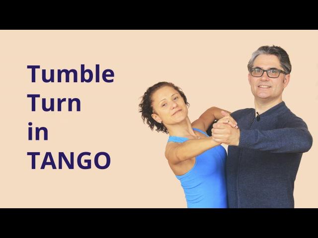 How to Dance Tumble Turn in Tango?