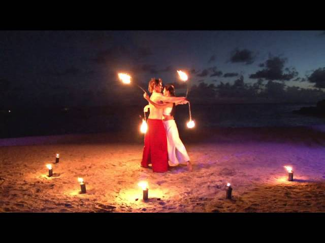 Fire Nomads Partner poi performance 2013 - St Barth FWI