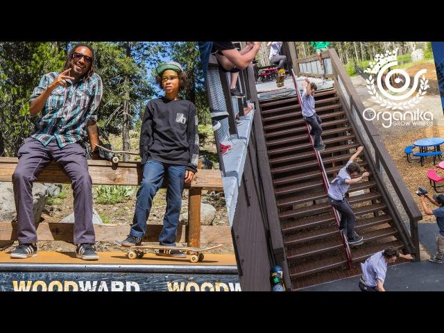 Organika Week at Woodward Tahoe