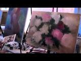 Моя первая картина! Живопись это просто! Художник Игорь Сахаров  М к в Питере