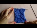 УЗОР АЖУРНАЯ КОСА! ВЯЖЕМ СПИЦАМИ КРАСИВЫЙ УЗОР ДЛЯ ВАШИХ ИЗДЕЛИЙ!Вязание для начинающих.knitting