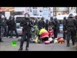 В ходе беспорядков в Лейпциге пострадала продюсер RUPTLY
