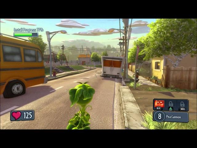 Игры Plants vs Zombies - Garden Warfare и скидки в PSStore