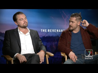 Watch The Revenant online Free Leonardo DiCaprio and Tom Hardy Interview THE REVENANT