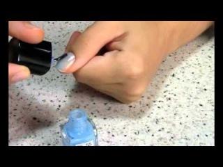 Градиентный маникюр двухцветный