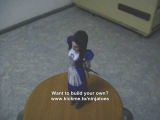 American McGees Alice papercraft model by ninjatoes