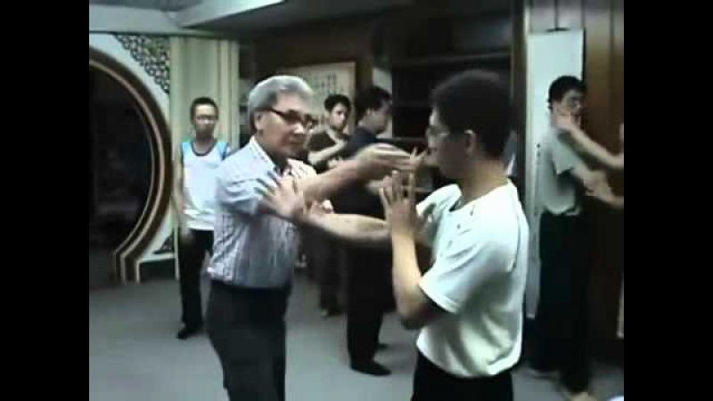八步螳螂拳(8-Step Praying Mantis)反背掌應用 - 一招化五招實作