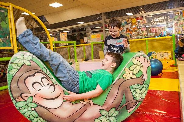 Детский развлекательный центр «Джунгли» за 3,50 руб.