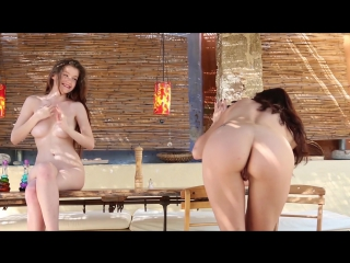 Sexy and erotic video with Emily Bloom