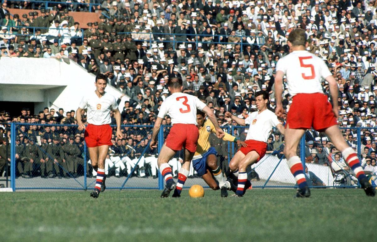 Garrincha Brasil Tchecoslovaquia