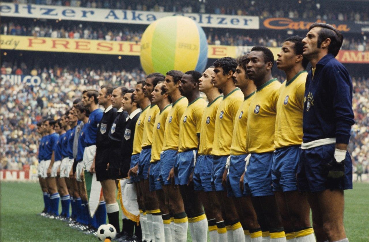 brasil italia 1970