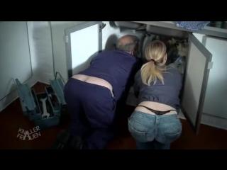 Немецкое порно сантехник
