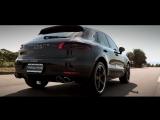 Porsche Macan S | ARMYTRIX Cat-Back Valvetronic Exhaust | Techart Wheels