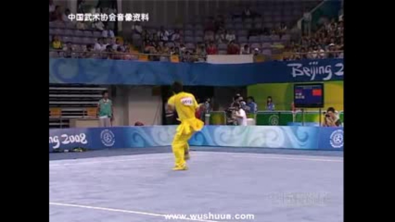 Olympic Wushu Tournament 2008 - Dao shu - Zhao Qing Jian (CHN) - 9.85.mp4