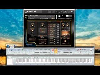 Galaxy Vintage D & Galaxy Steinway Pianos comparison - Rachmaninov Prelude No. 1 C Sharp minor