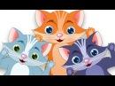 Три маленькие котята   Популярные детские стихи для детей