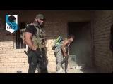 Irak - Baiji - Abu Azrael comandante de la Milicia Chií en combate contra ISIS - 17 Octubre 2015