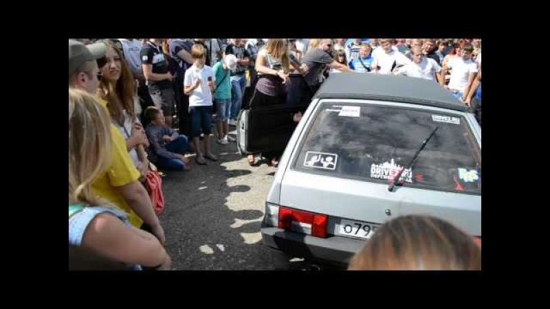 Zhel-dor GarageSOUND автозвук в формате SPL в рамках фестиваля АВТОСТРАДА г.Калуга 17.08.2013