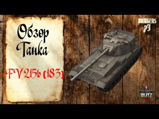 WoT Blitz:Обзор танка FV215b(183) от Dauglas73
