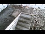 Монолитная лестница в частном доме.