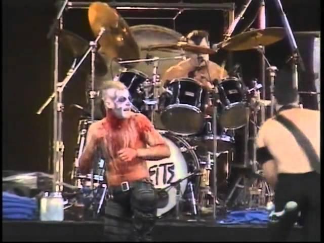 THE MISFITS @ Fujikyu Highland Japan 1999