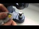 Установка пластиковой кнопки 10 мм