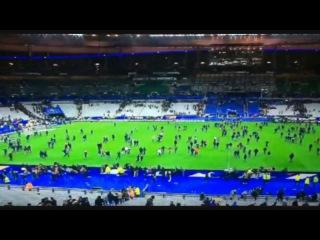 Крупнейший теракт в истории Франции - Взрыв во время матча Франция - Германия