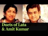 Best Lata Mangeshkar & Amit Kumar Duets - Evergreen Old Hindi Songs