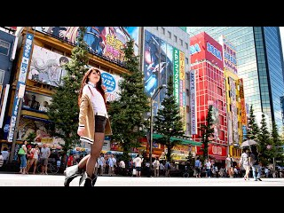 Япония. Акихабара - Аниме Магазины и Игровые Автоматы