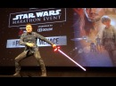Ray Park (Darth Maul) introduces Star Wars marathon at El Capitan Theatre in Hollywood