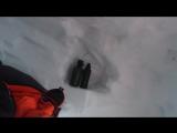 Как мы ночевали в снежной пещере в экспедиции по Заполярной Норвегии с турклубом Волчица. Февраль 2016г.