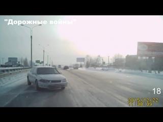 Новая подборка аварии и ДТП от Дорожные войны за 23.12.2015_Видео №721