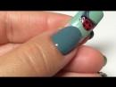 Урок дизайна ногтей 3D. Рисунок на ногтях. Любовь. Божья коровка Хамелеон