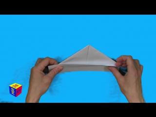 Оригами вместе с нами- кораблик. Как сделать бумажный корбалик из бумаги. Развитие речи.