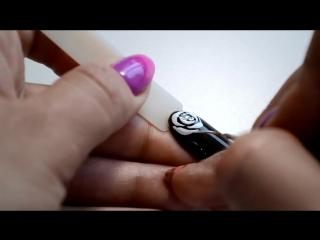 Дизайн ногтей ! Как очень просто нарисовать розы на ногтях! +покрытие акриловой пудрой!