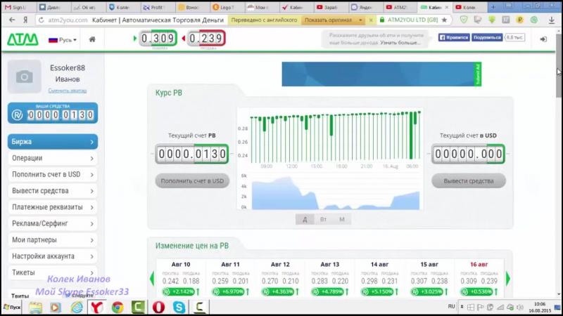 Как заработать в интернете без вложений с сайтом ATM2you.com заработок для каждого  https://atm2you.com/?u=50544