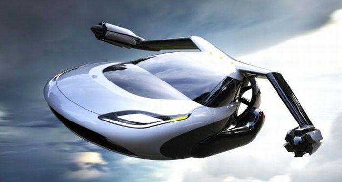 Через два года мир увидит летающий автомобиль