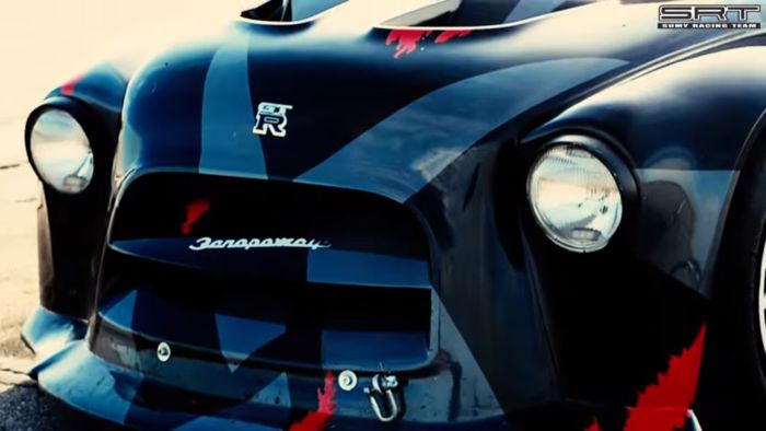 Запорожец который превратили в монстра с двигателем от Ford Mustang (ВИДЕО)
