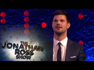 Grape Tennis With Taylor Lautner - The Jonathan Ross Show