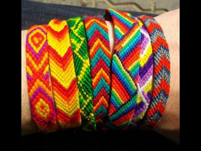 Плетем фенечку из мулине. Как сплести фенечку из мулине. Поделки своими руками.Идеи рукоделия.