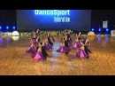 Vera (Tyumen, Russia) at WDSF World DanceSport Championship Formation Standard (1 place)