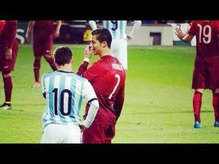 Криштиану Роналду и Лионель Месси, моменты вместе лучшие, футбол, барса, реал, криш,