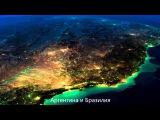 Земля в космосе, невероятная вселенная - вид земли из космоса.  Erde aus dem Weltraum