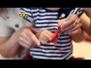Как научить малыша пользоваться ножницами Мамина школа ТСВ