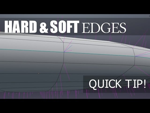 Blender Tutorial - Hard and Soft Edges