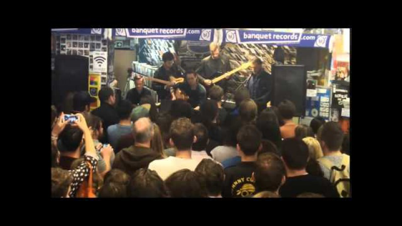 The Maccabees - Kamakura and Spit It Out - at Banquet Records